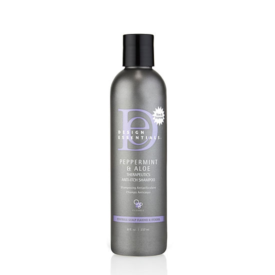 Design Essentials® Peppermint & Aloe Therapeutics Anti-Itch Shampoo 8oz