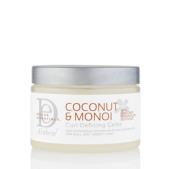 Design Essentials Coconut And Monoi Curl Defining Gelèe 12 Oz