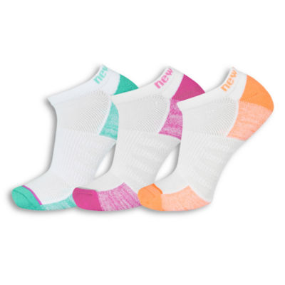 New Balance 3 Pair No Show Socks - Womens