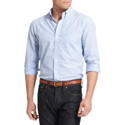 IZOD Premium Essentials Long Sleeve Button Down Shirt