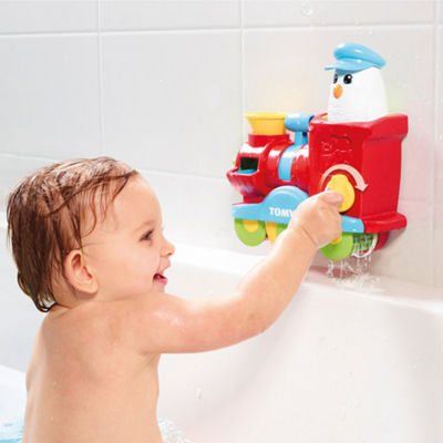 TOMY - Bath Bubble Train Blast