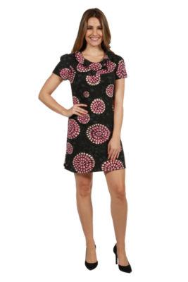 24/7 Comfort Apparel Delaney Sweater Knit Dress