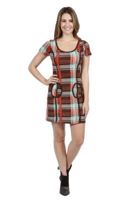 24/7 Comfort Apparel Ryleigh Sweater Knit Dress
