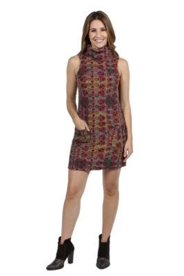 24/7 Comfort Apparel Kate Sweater Knit Dress