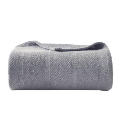 Eddie Bauer Herringbone Cotton Blanket