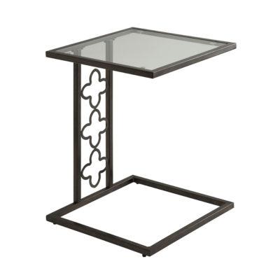Silas Quatrefoil Accent Table