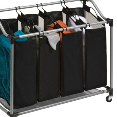 Honey-Can-Do® Quad Laundry Sorter with Mesh Bags