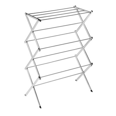 Honey-Can-Do® Commercial Accordion Drying Rack, Chrome