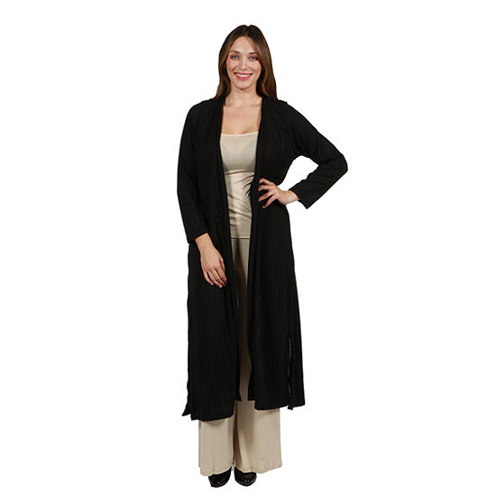 24/7 Comfort Apparel Mandeville Canyon Luxury Shrug - Plus