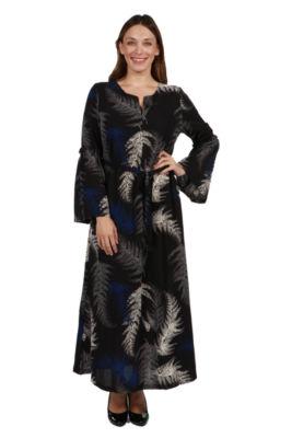 24/7 Comfort Apparel Lisette Maxi Dress - Plus