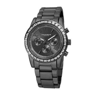 Akribos XXIV Womens Gray Bracelet Watch-A-943gn
