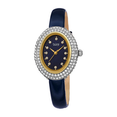 Burgi Womens Blue Strap Watch-B-234bu