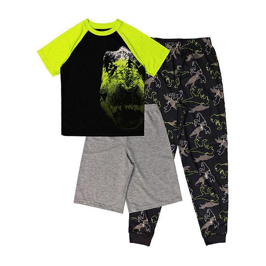 Jelli Fish 3-pc Kids Pajama Set - Boys