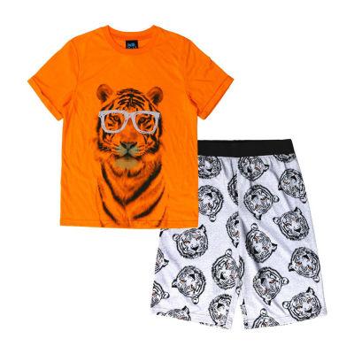 Jelli Fish Kids Jfk 2 Pc Short Sets 2-pc. Pajama Set Preschool / Big Kid Boys