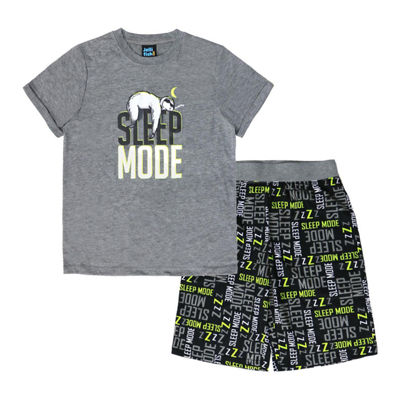 Jelli Fish Kids Jfk 2 Pc Short Sets 2-pc. Pajama Set Preschool / Big Kid Boys