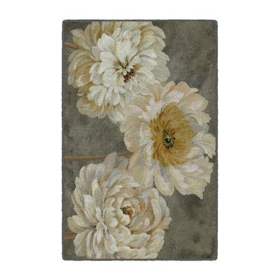 Brumlow Floral Study Printed Rectangular Indoor Accent Rug