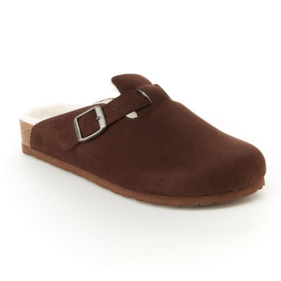 Unionbay Womens Drinky Clogs Buckle Round Toe