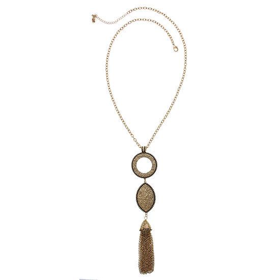 EL by Erica Lyons 28 Inch Cable Y Necklace