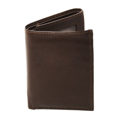 Cathy's Concepts Monogram Trifold Wallet With I.D. Window