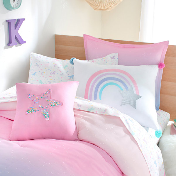 Frank And Lulu Unicorn Dreams Microfiber Easy Care Sheet Set