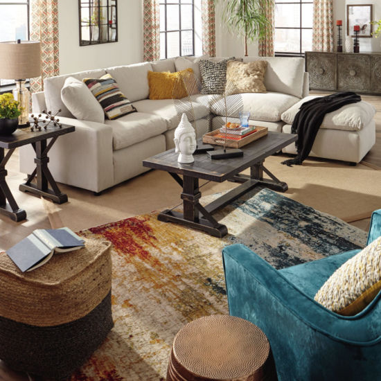 Signature Design By Ashley Delilah 4 Pc Sectional Jcpenney