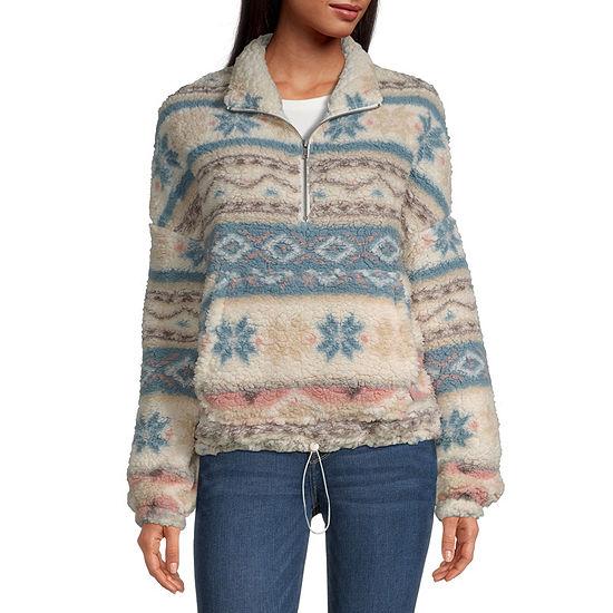 Flirtitude Juniors Sherpa Pullover