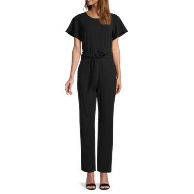 Liz Claiborne Short Sleeve Jumpsuit