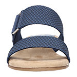 Easy Street Womens Olympia Wedge Sandals