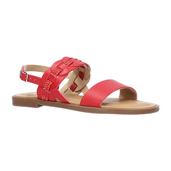 Easy Street Womens Teodora Flat Sandals