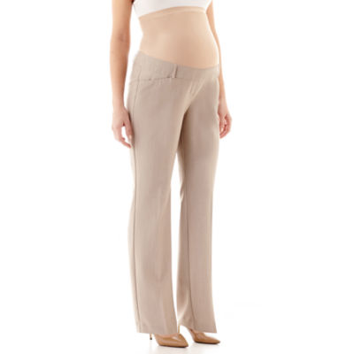 duo™ Maternity Overbelly Straight-Leg Trouser Pants