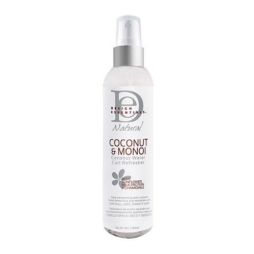 Design Essentials® Coconut and Monoi Coconut Water Curl Refresher - 8 oz.