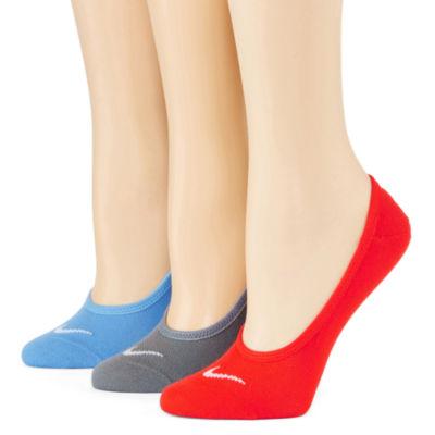 Nike® Womens 3-pk. No-Show Socks