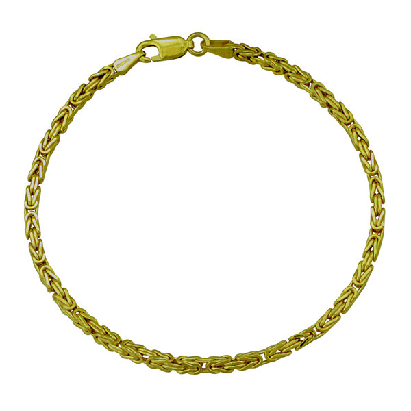 b7226bb9e5cfb3 Made in Italy 14K Round Byzantine Bracelet - JCPenney