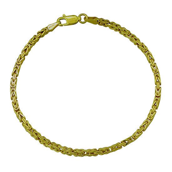 Made in Italy 14K Round Byzantine Bracelet