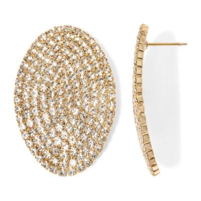 Natasha Gold-Tone Crystal Earrings