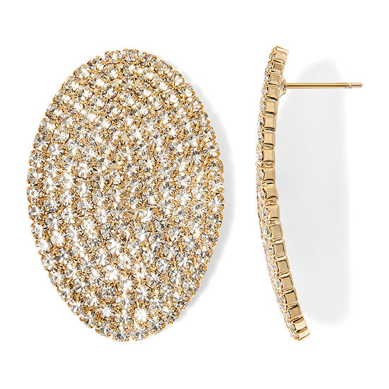 Natasha Gold-Tone Crystal Earrings