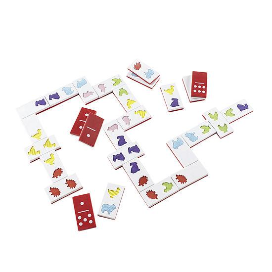 Guidecraft 28-pc. Jumbo Textured Dominoes Set