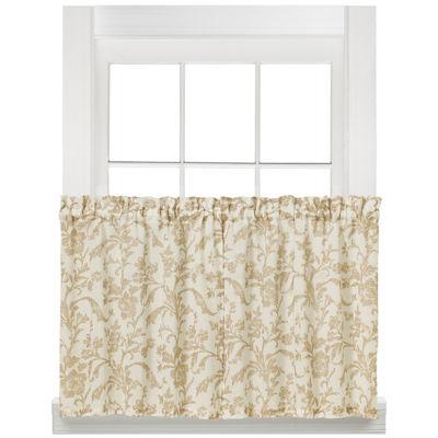 Melissa Rod-Pocket Window Tiers