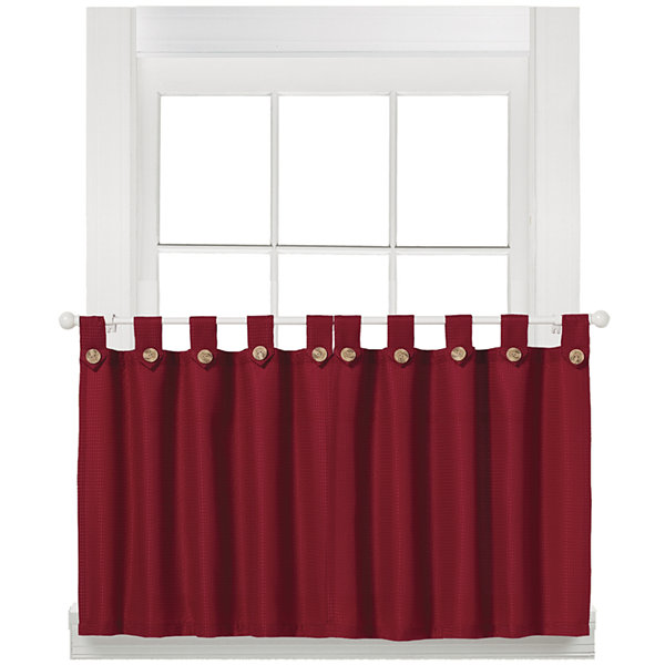 Westlake Rod-Pocket Window Tiers