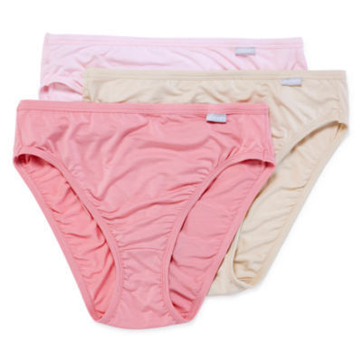 Jockey Elance® Supersoft Micromodal® 3 Pair Microfiber High Cut Panty