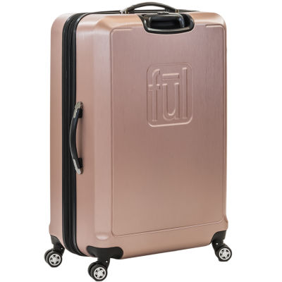 Hardside Gold Lightweight Luggage