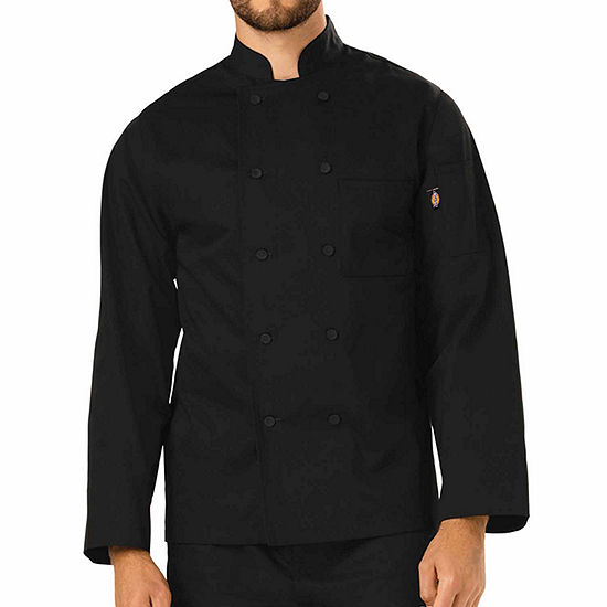 d0d16d12b6e Dickies Unisex Cloth Covered Button Chef Coat JCPenney