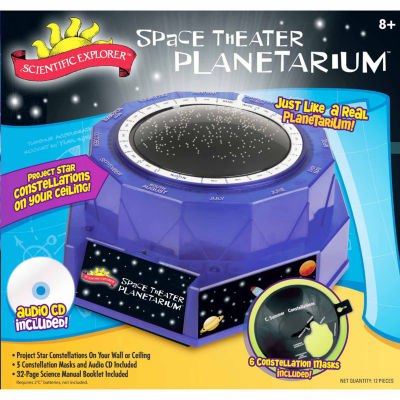 Scientific Explorer Space Theater Planetarium 12-pc. Discovery Toy