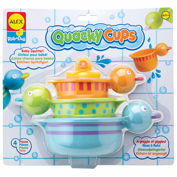 ALEX TOYS Rub A Dub Quacky Cups 4-pc. Toy Playset - Unisex