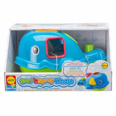 ALEX TOYS Rub A Dub Sort N Spray Whale 5-pc. Toy Playset - Unisex
