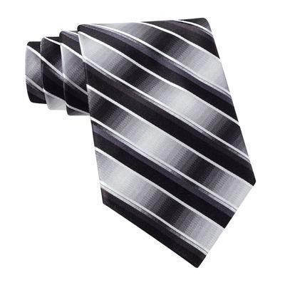 Van Heusen® Brave Striped Silk Tie – Extra Long