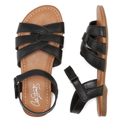 City Streets Nova Strap Sandals - Little Kids/Big Kids