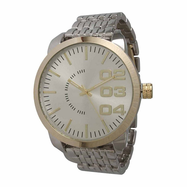 Olivia Pratt Womens Two Tone Bracelet Watch-15278
