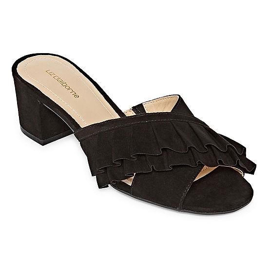 34c21808afe3 Liz Claiborne Womens Erika Slide Sandals - JCPenney