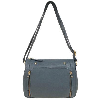 east 5th Leather Zip Shoulder Bag